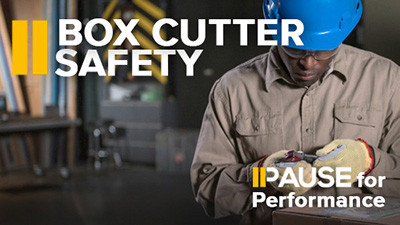 Pause for Performance: Box Cutter Safety