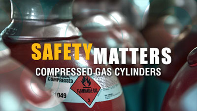 Safety Matters: Compressed Gas Cylinders