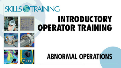 Operators & Their Responsibilities: Abnormal Operations