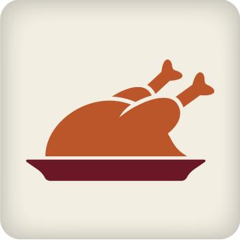 36 - 38 lbs. Christmas Turkey