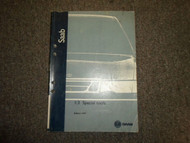 1998- Saab 900 9000 9-5 95 1:3 Special Tools Service Repair Shop Manual FACTORY
