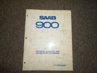 1980 Saab 900 Electrical Diagnosis & Troubleshooting Shop Manual FACTORY OEM