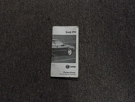 1994 Saab All Models Convertible Specification & Information Pocket Guide Manual