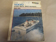 1968-1984 Clymer Volvo Stern Drive Service Shop Repair Manual B770 Boat WORN