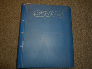1979-1982 Saab 900 Electrical Automatic Manual Transmission Service Manual OEM