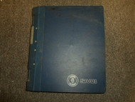 1994- 1996 Saab 900 Climate Control System ACC Interior Equipment Service Manual