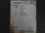 1988 Subaru 1800 Engine Transmission Service Repair Shop Manual OEM Book DAMAGED