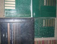 1993 FORD AEROSTAR VAN Service Shop Repair Manual Set W PCED + EWD + 2 VOL OEM