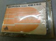 1974 HONDA CB450 CB 450 K7 K 7 SUPER SPORT 450 Owners Manual NEW FACTORY x