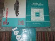1991 Lincoln Mark VII Service Repair Shop Manual SET W SPECS PCED & EVTM 4 BOOKS