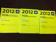 2012 Chevrolet Chevy ORLANDO Service Shop Repair Manual Set FACTORY NEW OEM BOOK