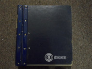 1994 1995 Saab All Models Warranty Policies and Procedures Manual FACTORY OEM 95