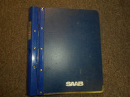 1986 87 1988 Saab 9000 Fuel System Injection Basic Engine Service Manual OEM