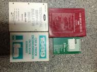 1989 Ford Mustang Gt Cobra Service Shop Manual Set OEM W SPECS TECH BULLETINS +