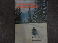 1963-1976 Snowmobile 7th Edition Service Repair Shop manual FACTORY OEM BOOK