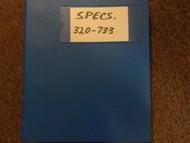 1980s 1990s BMW 320i 733i Specifications Shop Manual FACTORY OEM BOOK