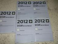 2012 CADILLAC CTS CTS-V Service Shop Repair Manual SET OEM BRAND NEW 2012