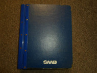 1985 87 89 1992 Saab 9000 Turbo Fuel Injection System Service Repair Shop Manual