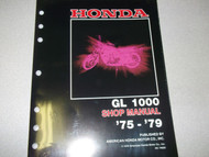1979 Honda GL1000 GL 1000 GOLDWING GOLD WING Service Repair Shop Manual NEW