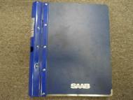 1985 86 87 1988 Saab 9000 Manual Auto Transmission Brakes Service Repair Manual