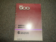 1979 80 81 1982 Saab 900 6 Front Assembly Steering Device Service Repair Manual