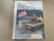 1976-2005 Clymer Honda 2-130 HP 4 STROKE Service Shop Manual B757-2 X NICE