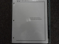 Infiniti Engine Mechanical Diagnosis And Repair Study Work Training Manual NEW
