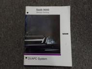 1991 Saab 9000 DI APC System Service Training Shop Manual FACTORY OEM DEAL 91
