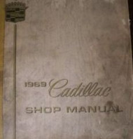 1969 Cadillac Eldorado DeVille Fleetwood Service Shop Repair Manual NEW REPRINT