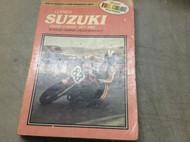1977 1979 1980 1982 Suzuki Clymer GS750 GS 750 Fours Repair Shop Service Manual