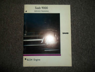 1990 Saab 9000 B234 Engine Service Training Manual FACTORY OEM BOOK 91 DEAL