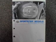 2004 Harley Davidson Sportster Parts Catalog Manual FACTORY OEM BOOK 04 NEW X