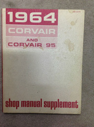 1964 Chevrolet CHEVY CORVAIR & CORVAIR 95 Service Repair Shop Manual SUPPLEMENT