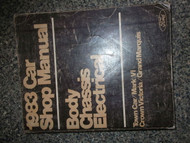 1983 Ford Crown Victoria Service Shop Repair Manual OEM x