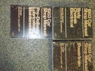 1983 Ford Crown Victoria Service Shop Repair Manual SET x