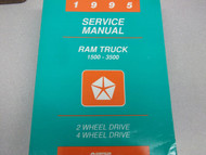 1995 Dodge Ram Truck DIESEL 1500 2500 3500 Service Shop Repair Manual FACTORY 95