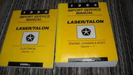 1994 EAGLE TALON & PLYMOUTH LASER Service Shop Repair Manual Set OEM 2 VOLUME