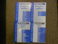 2001 Subaru Legacy Outback Restraints Body Cab HVAC Service Repair Shop Manual