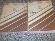 1982 Chrysler Cordoba Service Shop Repair Manual Set OEM FACTORY