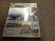 1988 1990 1992 93 94 Yamaha ATV YFS200 U YFS U~ Service Repair Shop Manual OEM