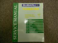 2003 Subaru Forester General Information Section 1 Service Repair Manual BOOK 03