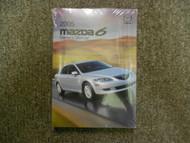 2005 Mazda6 Mazda 6 Mazda-6 Owners Manual FACTORY OEM BOOK 05 DEALERSHIP