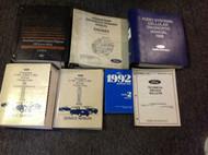 1992 Ford F150 F250 F350 BRONCO SUPER DUTY Service Shop Repair Manual Set W LOTS