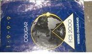 1999 Mercury COUGAR Electrical Wiring Diagram Service Shop Repair Manual EWD OEM