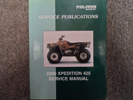 2000 Polaris XPEDITION 425 Service Repair Shop Manual FACTORY OEM BOOK X NEW