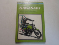 1973 Clymer Kawasaki 250 350cc TWINS All Years Service Repair Maintenance Manual