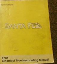 2001 Hyundai Santa Fe Service Electrical Wiring Diagrams Troubleshooting Manual
