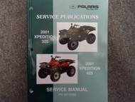 2001 Polaris XPEDITION 425 325 Service Repair Shop Manual FACTORY OEM BOOK 01 x