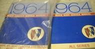 1964 Buick LESABRE WILDCAT ELECTRA 225 RIVIERA Service Repair Shop Manual SET X