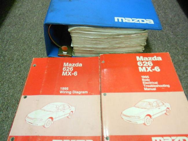 Diagram  2004 Mazda 3 Mazda3 Service Shop Repair Set Oem